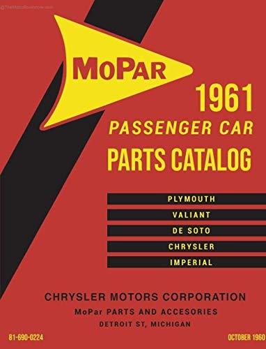 Mopar Parts Catalog - 1961 Mopar Car Body & Chassis Parts Catalog