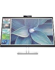 HP E27d G4 68,58 cm 27 inch QHD docking monitor, zwart-zilver