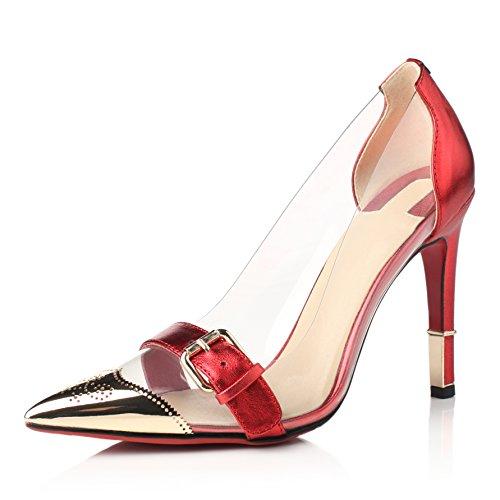 Nine Seven - Zapatos de Tacón mujer Red