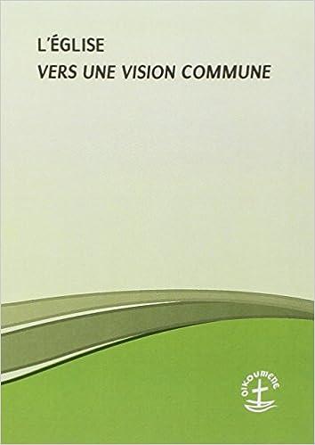 Livre L'Eglise : Vers une vision commune epub, pdf