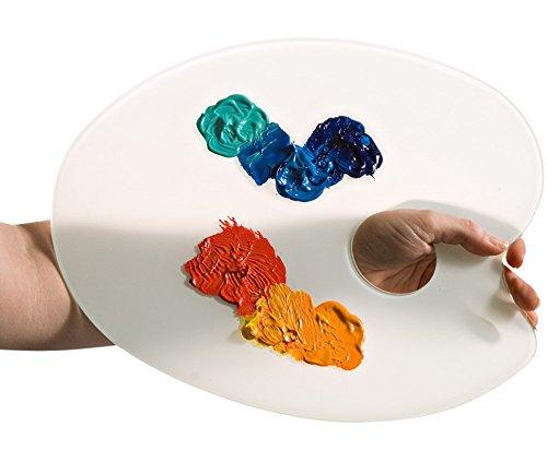 Paragona Oval Glass Palette MACPHERSON
