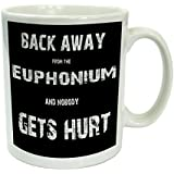 Back Away From The Euphonium And Nobody Gets Hurt Funny Brass Band Mug Gift by The Supreme Gift Company