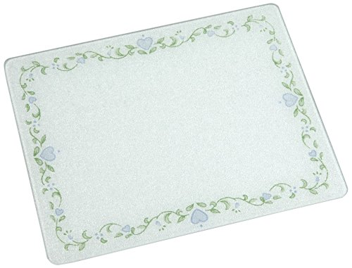 Corelle Country Cottage 15 X 12 inch Counter Saver Tempered Glass Cutting Board, 91512COTH Corelle Mixing Bowl