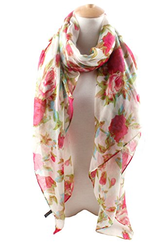 Fashionable Floral Scarves