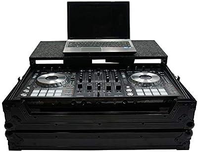 Harmony HCDDJSXLTBK Flight Ready Glide Laptop Tray DJ Case for Pioneer DDJ-SX3 from Harmony Audio
