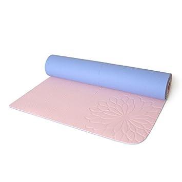 YOOMATTpe Doble Cara Color Doble Esterilla de Yoga Yoga Mat ...