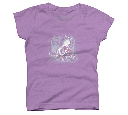 Astigmatism Girl's X-Small Purple Berry Youth Graphic T Shirt