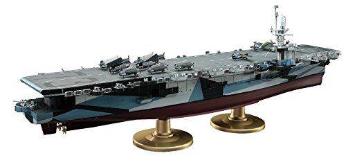 Navy Carrier (Hasegawa 1/350 U.S. Navy escort carrier CVE-73 Gambia bay (Z27) yJapanese plastic modelz)