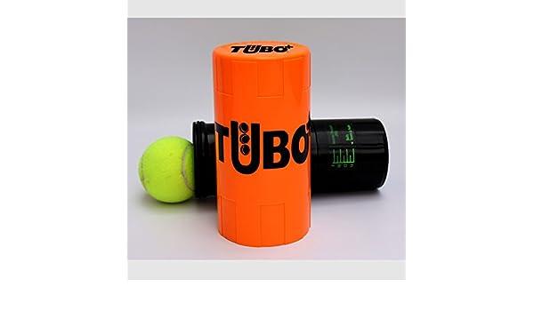 Recuperador de Bolas Tubo+ Naranja: Amazon.es: Deportes y ...