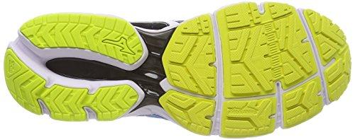 de Wave Zapatillas Blackwhitedivablue Hombre 9 Running Multicolor Ultima para Mizuno nOAq4I4