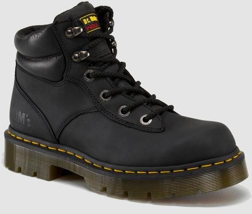 Dr. Martens Men's Black Burnham NS 6 Tie Boot 11 F(M) UK