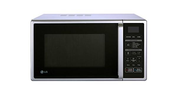LG MH6349B - Microondas (800 W, 485 mm, 385 mm, 280 mm, 569 ...