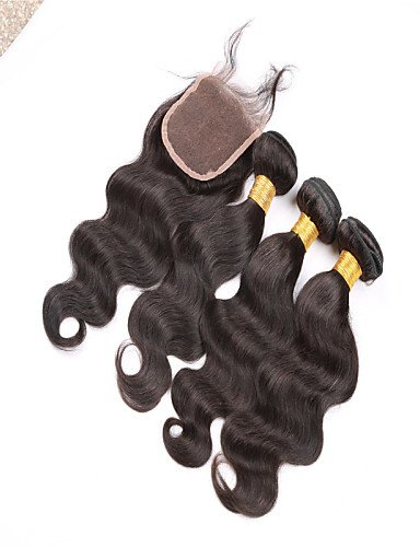 Regroupe Cheveux Des Part Brazillian amp; free À Avec 18 De Vierges 24 Vierge Corps Vague Fermeture Lacets Jff Brésilienne Brésilien CSg7xFnnd