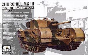 (Churchill Mk III British Infantry Tank 1-35 AFV Club)