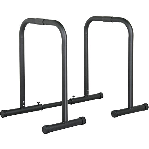 Heavy Duty Dip Station Pull Up Parallel Bars Body Balance Exercise Equalizer Bar by Unknown