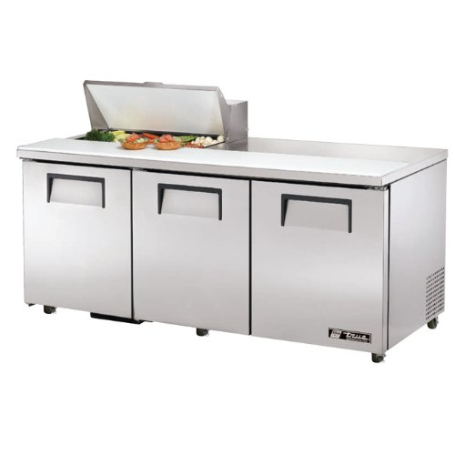 New Mega Top Sandwich/Salad Unit True Refrigeration TSSU-72-15M-B-ADA (Each) (Sandwich Top Unit)