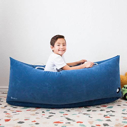 Harkla Hug (60 inches) - Inflatable Peapod for Children with Sensory Needs - Great Sensory Product for Ages 6 to 12 - Occupational Therapy Tools, Autism Toys