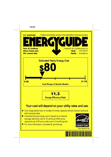 10000 BTU - ENERGY STAR - 115 volt - 12.2 EER Chill Series Room Air Conditioner