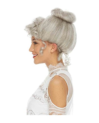 (Women's Gibson Girl Costume Wig (Grey))