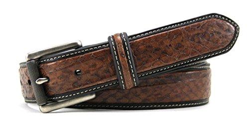 Bill Lavin Belts (Leather Island 35mm Classic Eel Skin Toffee Leather)