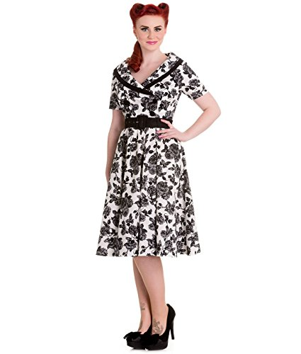 Hell Bunny 50's Honneur Style Vintage Robe Motif Floral