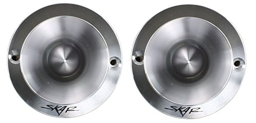NEW SKAR AUDIO TX-T 1-INCH 240W MAX POWER SILK DOME NEODYMIUM TWEETERS PAIR