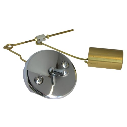 LASCO 1043559 Gerber Bathtub Waste/Overflow Old Style Trip Plate Includes Bucket and Wire Assembly, Chrome Plated