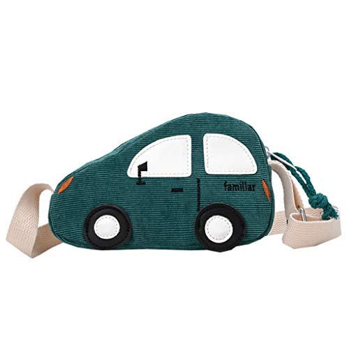 (Outique Creative Bag for Children Baby Boys&Girls Car Shoulder Bag Handbags Mini Crossbody Bag Packet Cute Coin Purse)