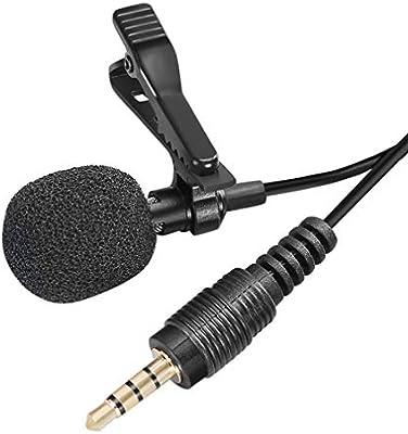 Mini Lavalier Mic Tie Clip Micrófonos Smart Phone Recording PC ...