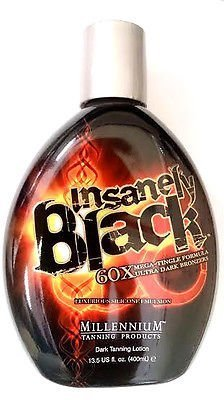Insanely Black Hot Tingle Tanning Bed Lotion w/ Bronzer 13.5 Fl. Oz. (400ml)