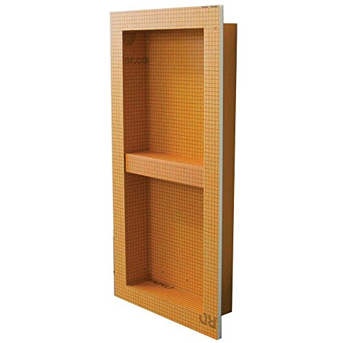 "Schluter KERDI-BOARD-SN: Shower Niche (with shelf) 12""x28"""