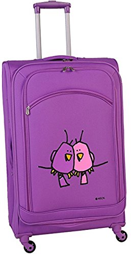ed-heck-big-love-birds-spinner-luggage-28-inch-purple-one-size