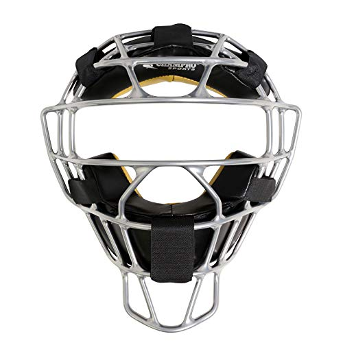CHAMPRO Rampage Ultra-Lightweight Magnesium Baseball/Softball Umpire Face Mask with Bio-Fresh Microbial Guard Treatment