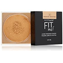 Maybelline New York Fit Me Loose Finishing Powder, Medium Deep, 0.7 Oz