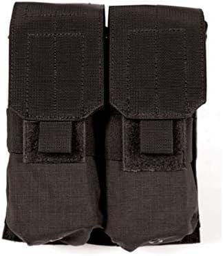 BLACKHAWK! S.T.R.I.K.E. MOLLE M4/M16 Double Magazine Pouch Holds 4 AR-15 30. 41YhM5w5czL