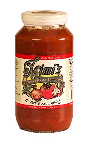Mimi's Gourmet Pasta Sauce Sweet and (Mimi Sweet)