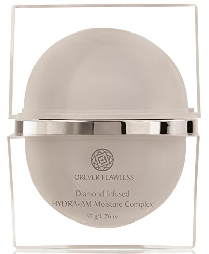 Forever Flawless HYDRA-AM Daily Moisturizer Cream with 100% Natural White Diamond Infused Powder & Vitamin C, Designed For Anti Wrinkle & Anti Aging. On Face, Neck and Decollete 1.76 (Pca Spf 15 Moisturizer)