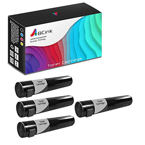 - ABCink Compatible Toner Cartridge Replacements for Xerox 16194700,for use in Xerox Phaser 7700 7700DN 7700DX 7700GX,5000 Yields(4 Pack,Black)