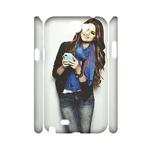 J-LV-F Selena Gomez Customized Hard 3D Case For Samsung Galaxy Note 2 N7100