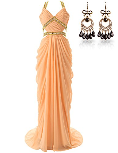 JAEDEN - Vestido - para mujer naranja