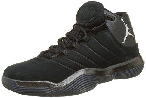 Nike Jordan Mænd Super.fly 2017 Basketball Sko Sort (sort / Krom-antracit) vjOZQM
