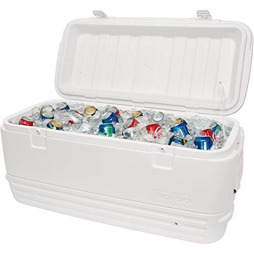 Igloo Polar Cooler 120-Quart, White Pack of 3