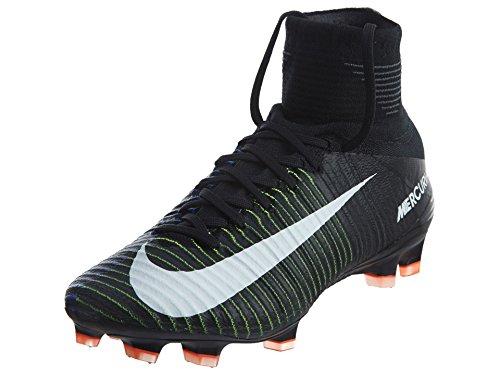 Tacchetta Da Calcio Nike Mens Mercurial Superfly Fg (nero, Verde Elettrico) Nero / Bianco-verde Elettrico