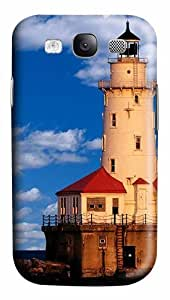 Chicago Lighthouse Custom Polycarbonate Plastics Case for Samsung Galaxy S3 / S III/ I9300