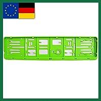 Farbe-EU-NORM-110X520-Deutschland 1 Set, und alle Normländer-W-Kennzeichenrahmen, für 1 KFZ. grün