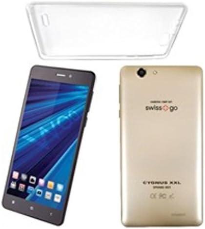 Woo - Telefono movil Smartphone Cygnus XXL Dorado 6