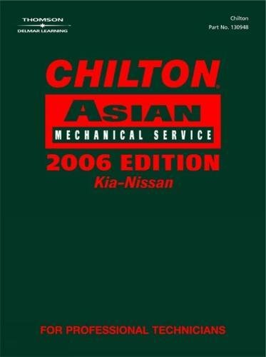 Chilton Asian mechanical service. Volume 2 Infiniti, Mazda, Mitsubishi, Nissan