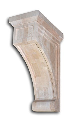 "Mission Style Maple Wood Corbel 5"" x 9"" x 13"""