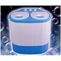 Mini Waschmaschine und Schleuder für Reise & Singles mit 160 Watt und 24 Liter Volumen