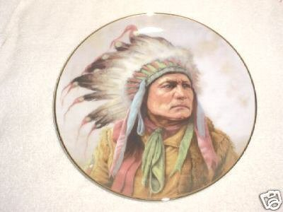 Pride of Cheyenne by Perillo Collector Plate ()